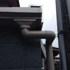 宮崎板金工作所の工事例の雨どい修理の画像