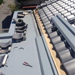 宮崎板金工作所の工事例の雨漏り修理の画像